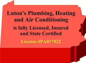 Contact Luton's Plumbing, Heating and Air Conditioning at: 814-226-8695